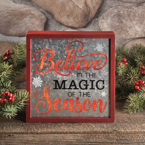 Believe In The Magic Wall Décor