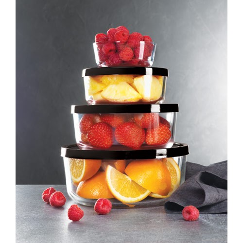 Glass Stackable Bowls