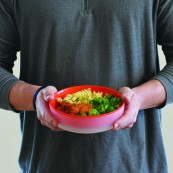 Touch-It Microwave Bowl