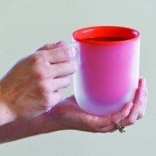 Touch-It Microwave Mugs Set of 2