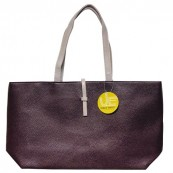 Chocolate Brown Tote Bag