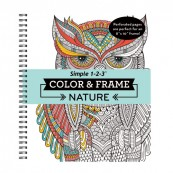 Nature Color and Frame Book