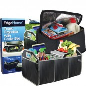 Collapsible Trunk Organizer with Removable Cooler Bag